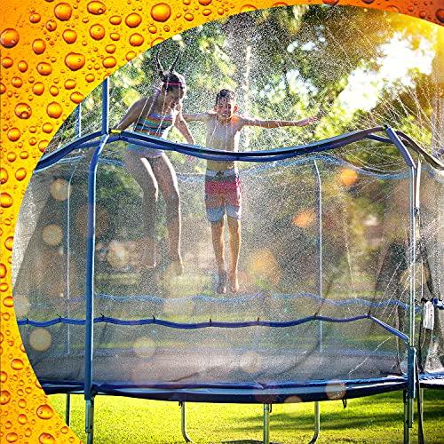 ThrillZoo Trampoline Waterpark Heavy Duty Trampoline Sprinkler Hose - Trampoline Accessories Fun...