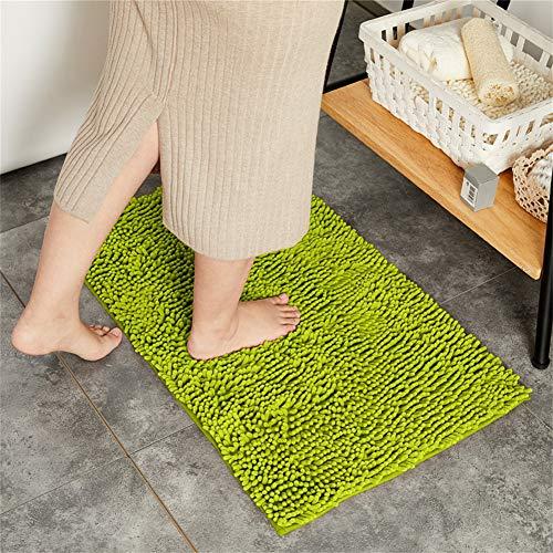 GRZHJK Caterpillar Bath Mat,Extra Soft Water Absorbent Shaggy Door Mat,Machine Washable Quick Dry Bath Rug Plush Floor Mat For Tub Shower Bathroom Rugs