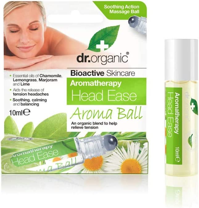 Dr Organic Large special price !! Head Ease Aromatherapy Ball 10ML Miami Mall Roller
