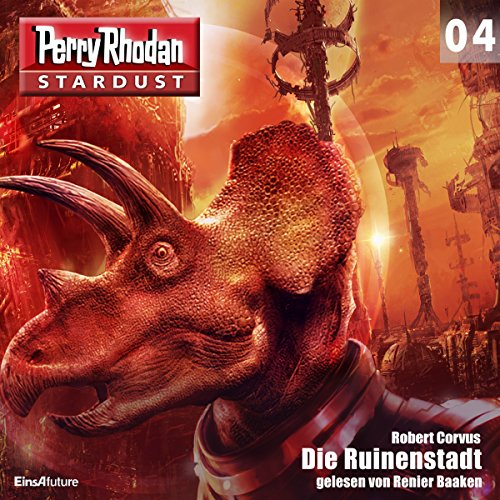 Die Ruinenstadt audiobook cover art