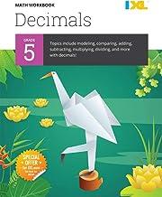 IXL | Grade 5 Decimals Math Workbook | Fun Math Practice for Ages 10-11, 112 pgs