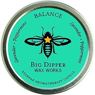 Big Dipper Wax Works Pure Organic Aromatherapy Beeswax Tins - 1.7 Ounces Inc. (Balance)