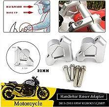 FATExpress 32mm Aluminum Handlebar Handle Bar Raiser Riser Up Backs Moves Bracket Kit for BMW R1200GS R 1200 GS LC ADV Adventure 2013 2014 2015 2016 2017 2018 Motorcycle Accessories