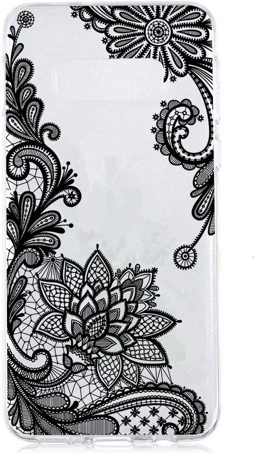 Amocase Cute Floral Case with 2 in 1 Stylus for Samsung Galaxy S