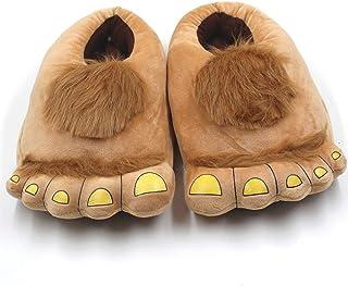 EASTiii Kids Furry Monster Adventure Slippers, Warm Winter Monster Feet Slippers Boys Girls …