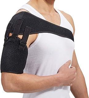 تسمه شانه پشتیبانی از بازوی تسمه ای برای سکته مغزی همی پلژی Subluxation قابل تنظیم راست پد های چپ تنها دررفتگی دررفتگی تسمه های بازتوانی بازو