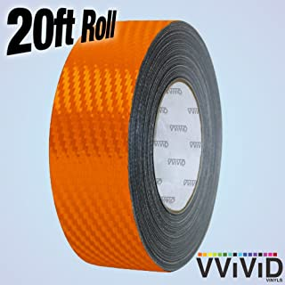 1//4 x 20ft roll 4350413873 VViViD 3M 1080 Black Gloss Vinyl Detailing Wrap Pinstriping Tape 20ft Roll