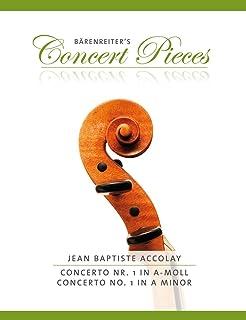 Bärenreiter's Easy Concertos: Concertino in a-Moll: Geigenstimme mit beigelegtem Klavierauszug