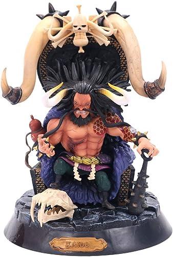 LIUXIN One Piece Anime Statue KAIDO Spielzeug Modell auf dem Thron PVC Anime Dekoration Sammlungen Geburtstagsgeschenk -10.23in Spielzeugstatue