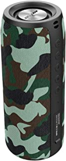 $59 » Sponsored Ad - Outdoor Portable Bluetooth Speaker,Bluetooth 5.0,Loud Stereo,Dual Pairing Wireless Speakers- Camouflage-Green