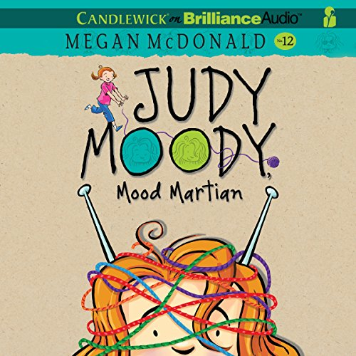 Judy Moody, Mood Martian audiobook cover art