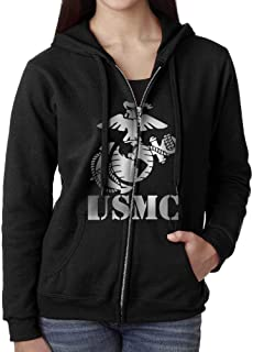 usmc sweatshirt womens