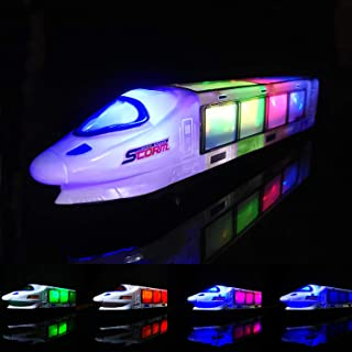 FUGZ Train Toys, Beautiful 3D Lightning Electric Train, Creative Gifts for 3-8 Year Old Boys Girls Gifts …