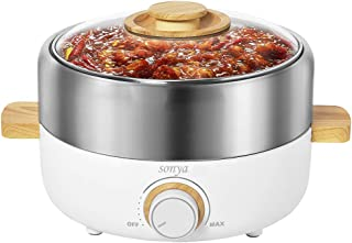 induction hot pot with divider