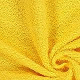 Fabulous Fabrics Frottee – gelb — Meterware ab 0,5m —