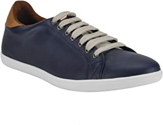 Franco Leone Blue Men's Casual Sneakers