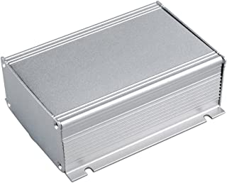 """Eightwood Extruded Aluminum Project Box Electronic Enclosure Case with Flange DIY - 4.33"""" x 2.91"""" x 1.50""""(LengthWidthHeight)"""