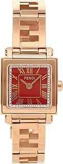 [フェンディ] 腕時計 レディース FENDI F605527200 レッド ピンクゴールド [並行輸入品]