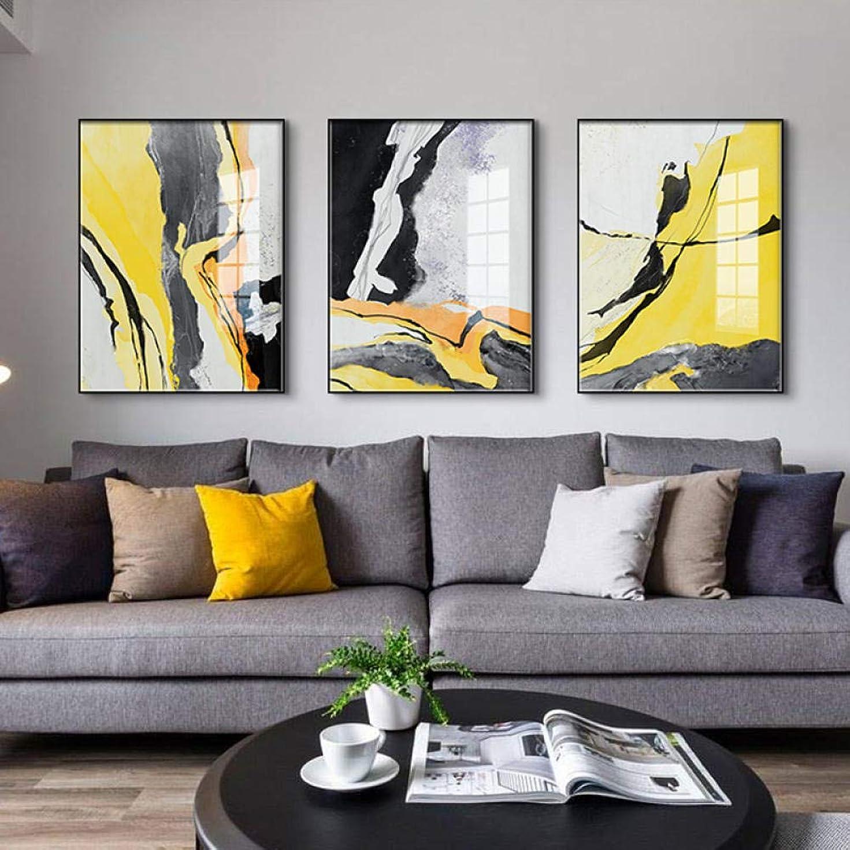 場所爵パラメータアートポスターノルディックカラーブロックラインウォールアートキャンバス絵画プリント抽象ポスターリビングルーム用モーデン契約済み装飾-40x50cmx3個フレームレス