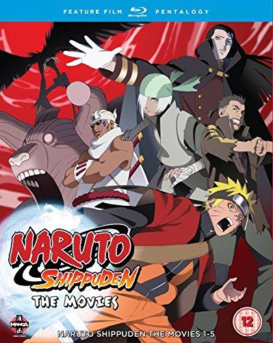 Naruto: Shippuden Movie Pentalogy [5 Blu-rays] [UK Import]