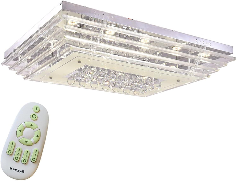 NAIZY 90W Dimmbar Kristall Deckenleuchte Deckenbeleuchtung Deckenlampe Pendelleuchte LED Lampe Hngelampe
