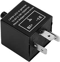 Relé intermitente de 3 pines, LED relé indicador de moto para Indicador de señal de giro