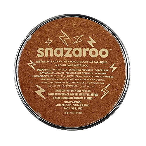 Snazaroo - 18755 - Maquillage - Galet de Fard Aquarellable - 18 ml - Cuivre