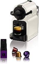 ماكينة انيسيا لتحضير القهوة من نسبرسو، 40 كبسولة، لون ابيض