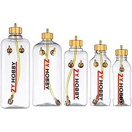 DeWin RC Fuel Tank Remote Control Model Accessory Parts Transparent Plastic Oil Tank for RC Airplane 1000ML