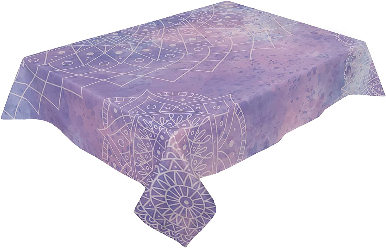 Savannan Rectangle Kitchen Omaha Mall Tablecloth Dust-Proof 54x79inch Burla Outlet ☆ Free Shipping