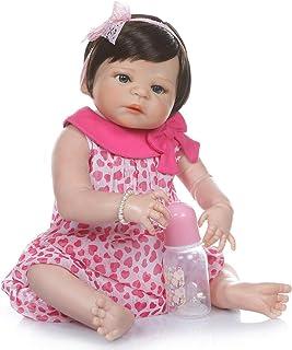 21 cali 55 cm May God Bless You, Realisitic Sweet Dreamer Reborn Baby Girl Lalka wykonana z winylowego podobnego silikonu ...