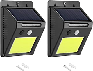 AUSELECT Solar Lights Outdoor 48 LEDs Motion Sensor Wireless Waterproof Security Light, Solar Lights for Patio, Yard, Driv...