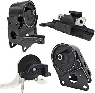 Set of 4 Partschoice Engine Motor /& Transmission Mount Compatible for 2004-2009 Nissan Quest 3.5L fit 5 speed Auto