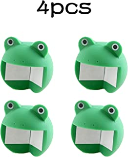Cute Animal Table Corner Protectors Bumper Cushion Cover Baby Child Furniture Proofing Edge Protector Kids Safety Edge Guard (4Pcs, Frog)