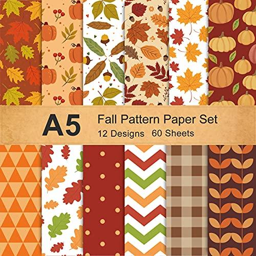 Fall Themed Scrapbook Paper