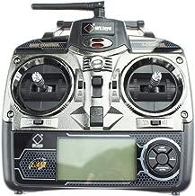 elegantstunning 2.4GHz 4CH RC Transmitter for Wl-Toys V911 V912 V913 V929 V939 V949 V959 RC Helicopter Part