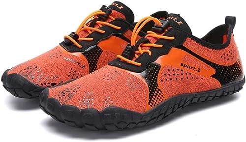 Hommes Femmes Chaussures Nautiques à séchage Rapide Plage Adulte Swim Barefoot Légères Chaussures Barefoot (Couleuré   comme montré1, Taille   EU 46)