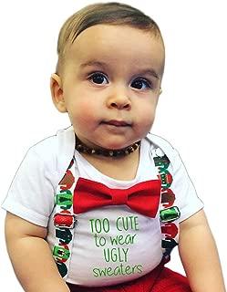 Noah's Boytique Baby Toddler Boys Christmas Santa Thanksgiving Fall Outfit