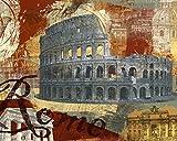 Feeling at home Impresion-en-Papel-Tour-Roma-Yang,-Eric-Étnico-56_X_70_cm