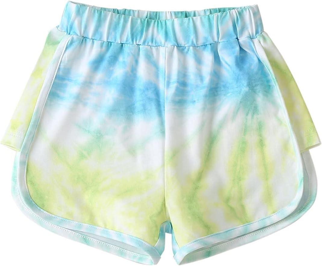 Summer Toddler Kids Beach Short Baby Boys Girls Tie-dye Print Ca