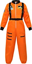 Kids Astronaut Costumes Spaceman Jumpsuit Flight Dress Up Costume Astronaut Role Play Sets for Boys Girls
