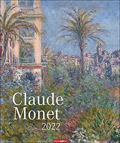 Claude Monet Kalender 2022 - Kunstkalender mit internationalem Monatskalendarium - 12 Kunstwerke - 46 x 55 cm