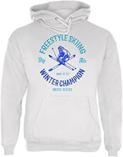 Winter Games Freestyle Skiing Champion USA Mens Hoodie