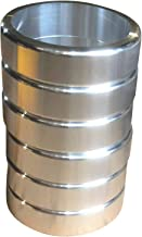 Grant's Garage Bradley Smoker Puck Spacer 6 PK - Aluminum Clearing Rings for Wood Bisquettes - Limit 2 sets per order