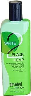 white 2 black hemp tanning lotion