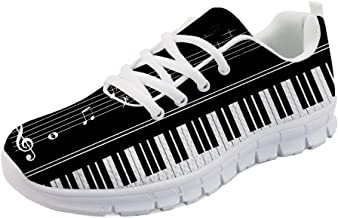 Gnarly Tees Womens Piano Sneakers