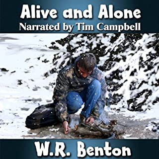 Alive and Alone audiobook cover art