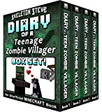 Diary of a Teenage Minecraft Zombie Villager BOX SET - 4 Book Collection 1 : Unofficial Minecraft Books for Kids, Teens, & Nerds - Adventure Fan Fiction ... - Bundle Box Sets 8) (English Edition)