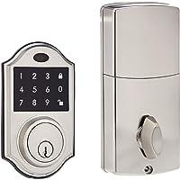 AmazonBasics AB-DH501-SN Electronic Deadbolt Door Lock