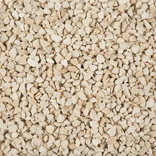 Eurosand Deko Granulat, Zierkies 2-3 mm Creme 5 Kg (1 Kg = 1,79EUR)